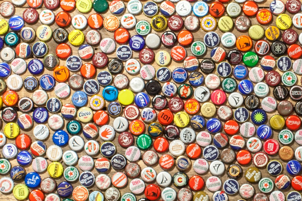 Bottlecap USA, detail