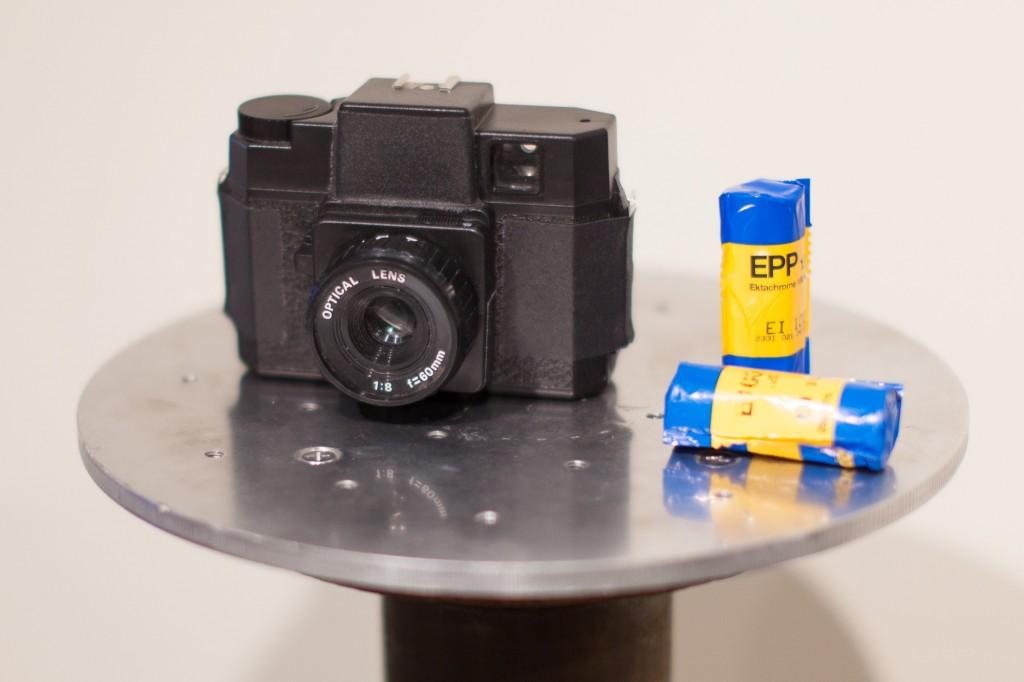 Holga split lens camera